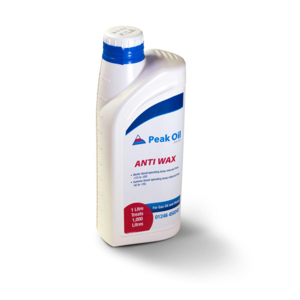 PEAK ANTI WAX ADDITIVE 1 LITRE