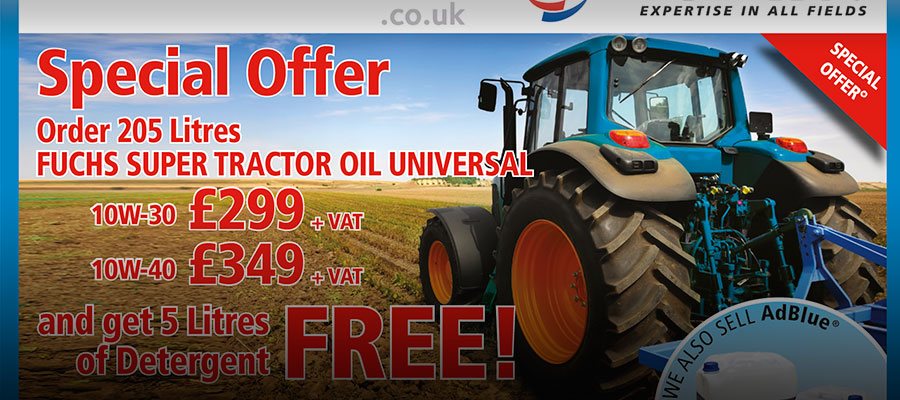 tractor oil offer